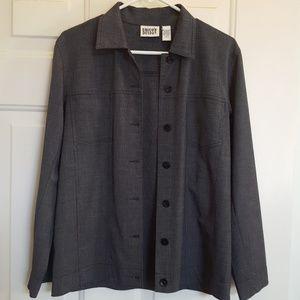 CHICO's Jacket/Blazer button down